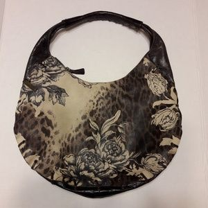roberto cavalli FREEDOM Women's Floral Hobo Bag